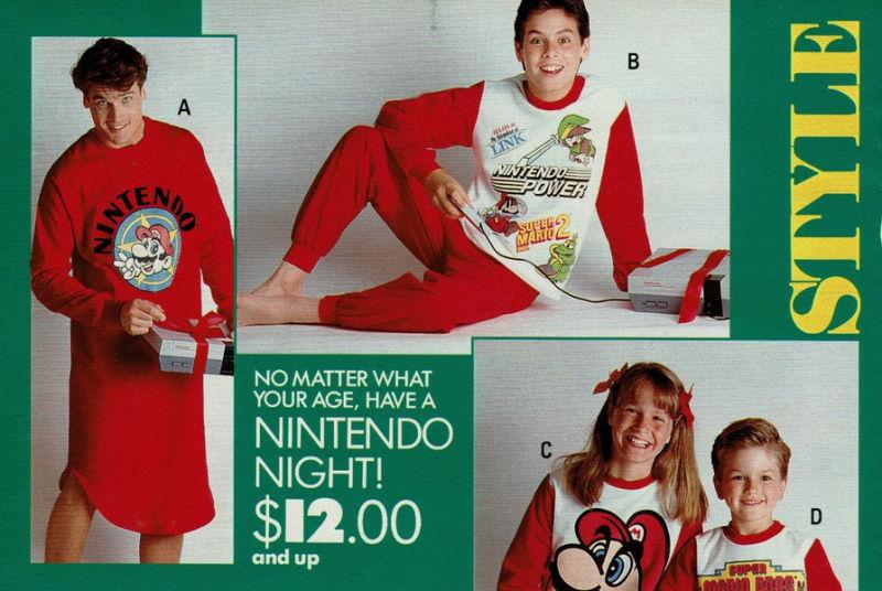Nintendo Pajamas
