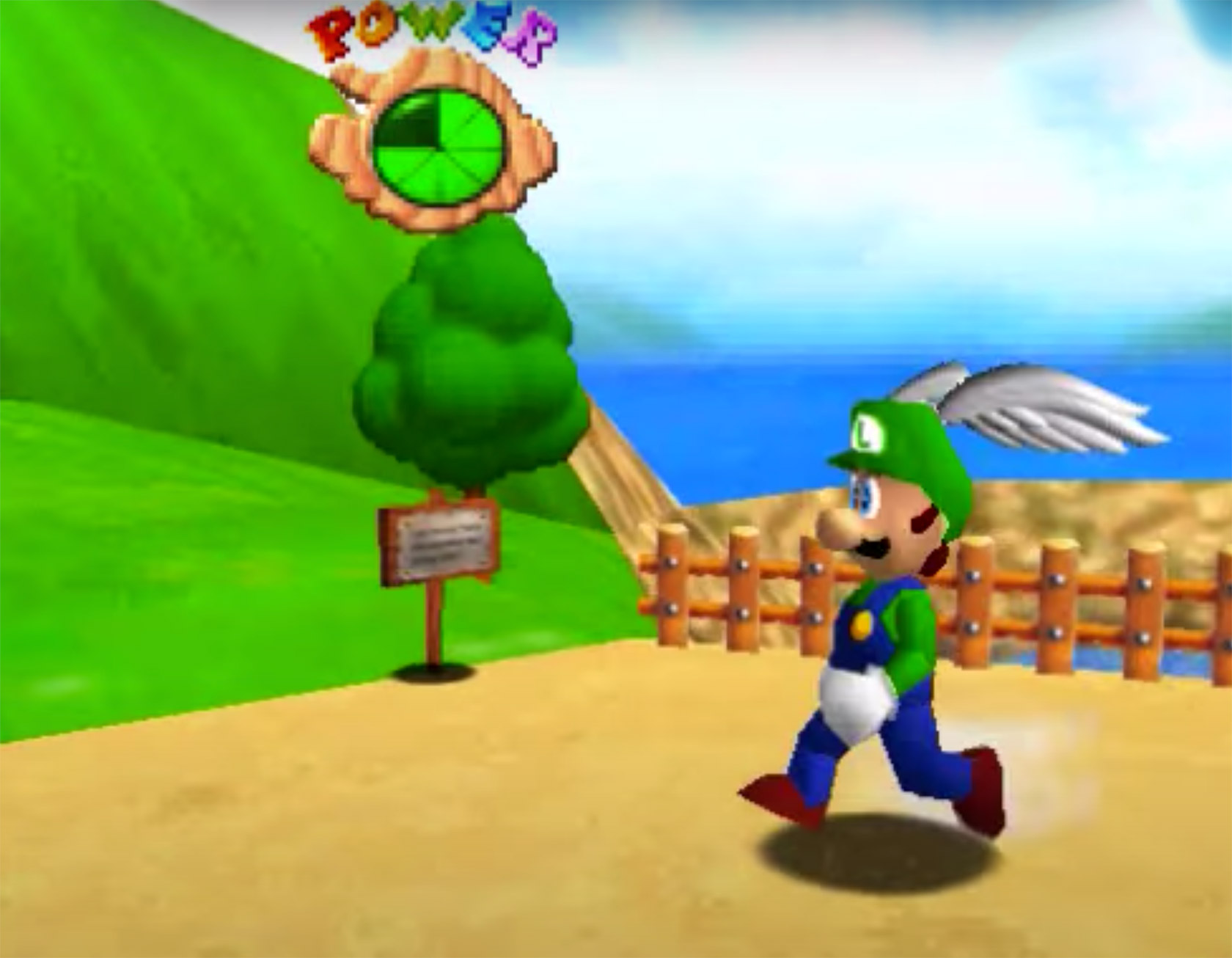 Nintendo Source Code Luigi Super Mario 64