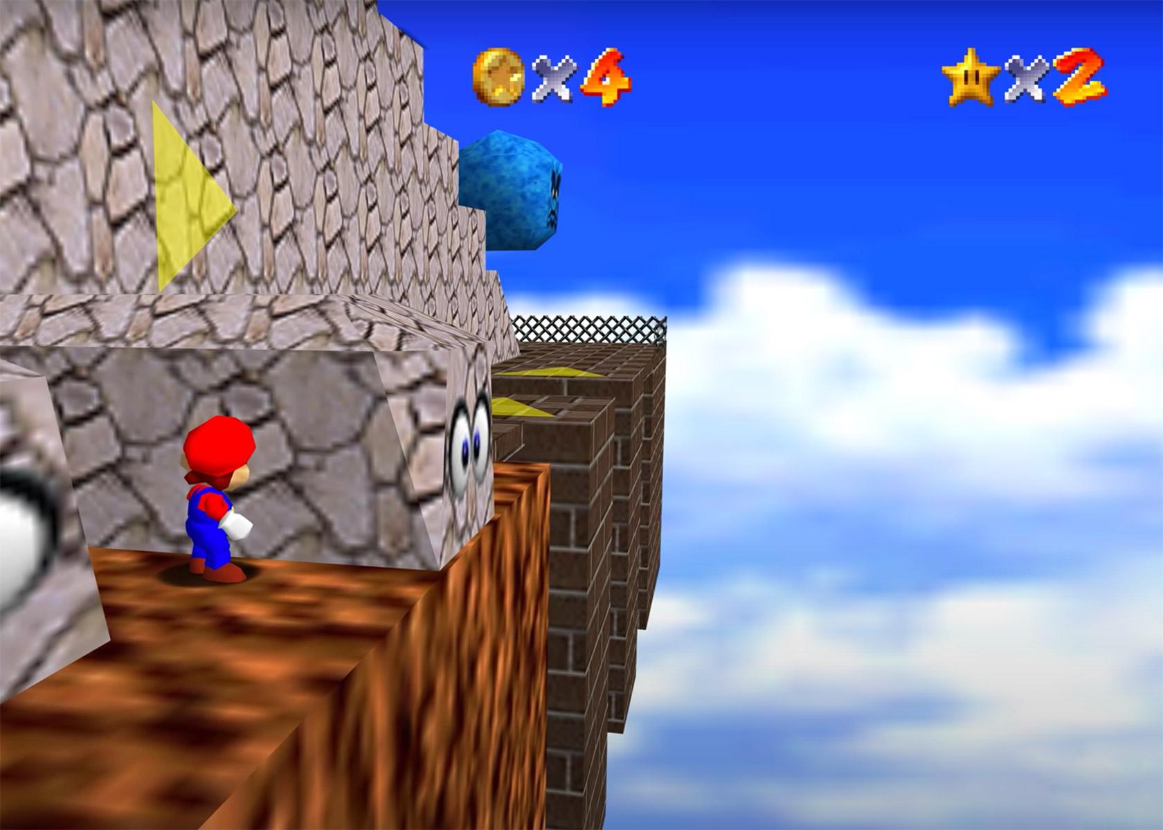 Nintendo Super Mario 64 PC Port 4K