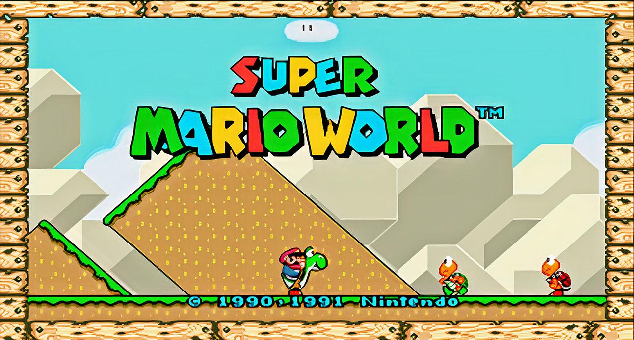 Nintendo Super Mario World Widescreen Mod