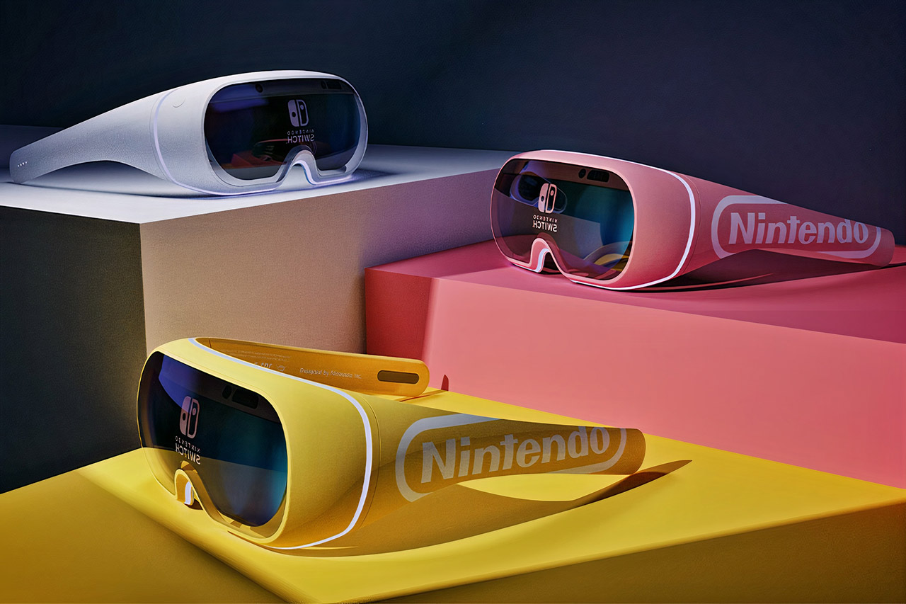 Nintendo Switch Augmented Reality AR Glasses