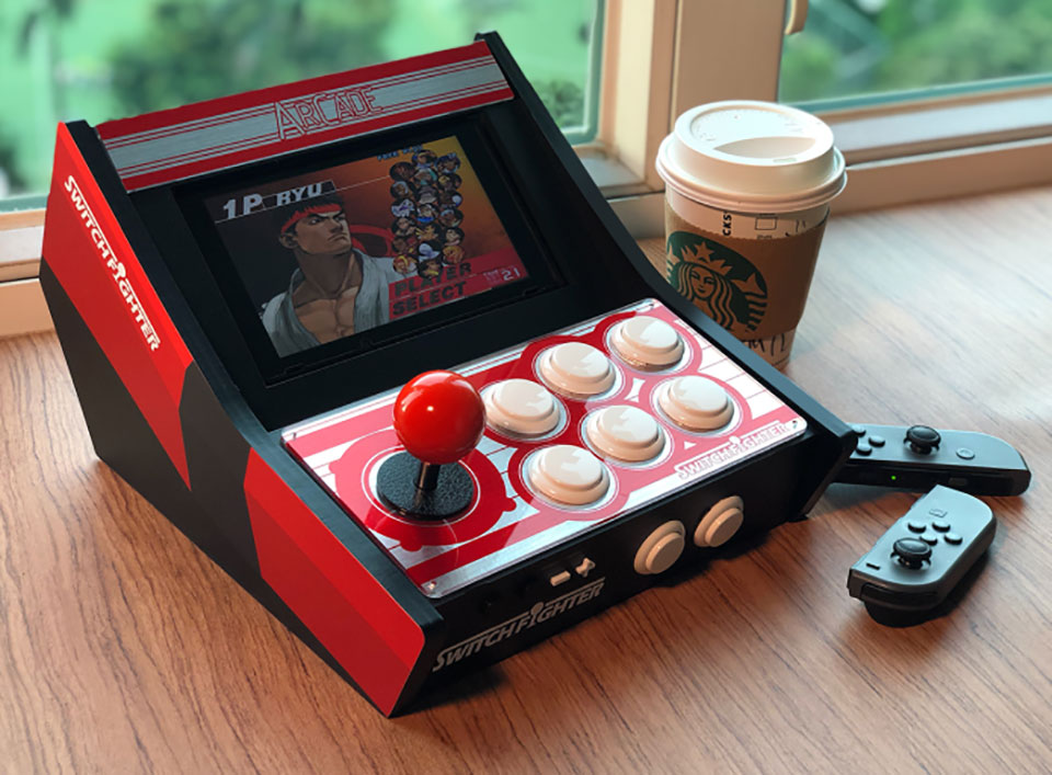 Switch Fighter Nintendo Arcade Cabinet