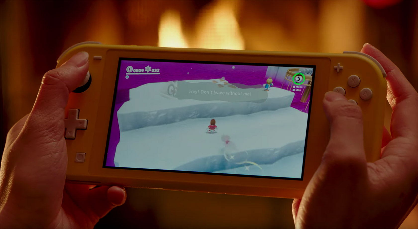 Nintendo Switch Lite ASMR Super Mario Odyssey