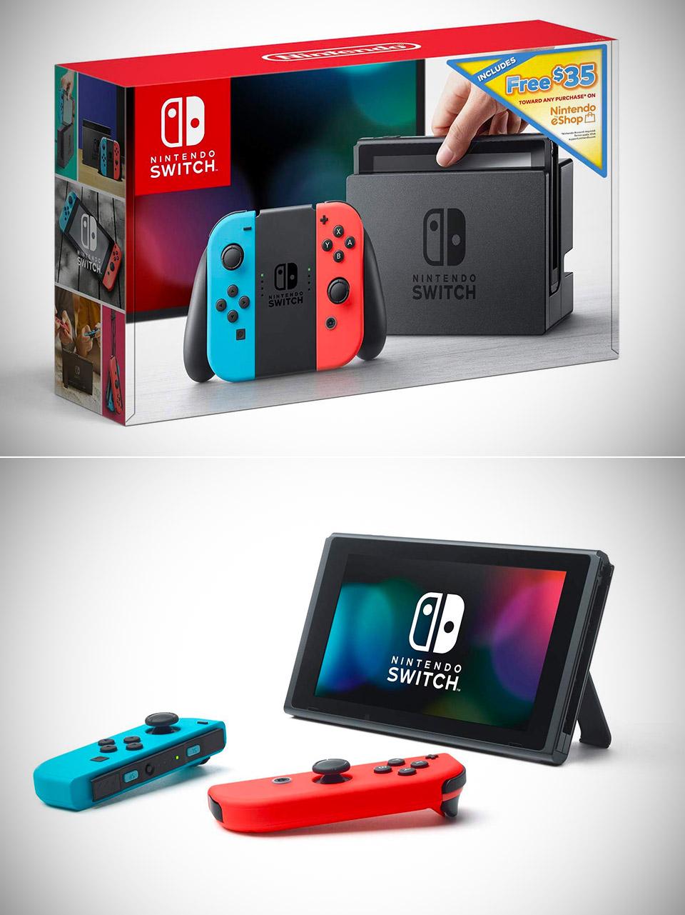 Nintendo Switch Mario Series MAR10 Day