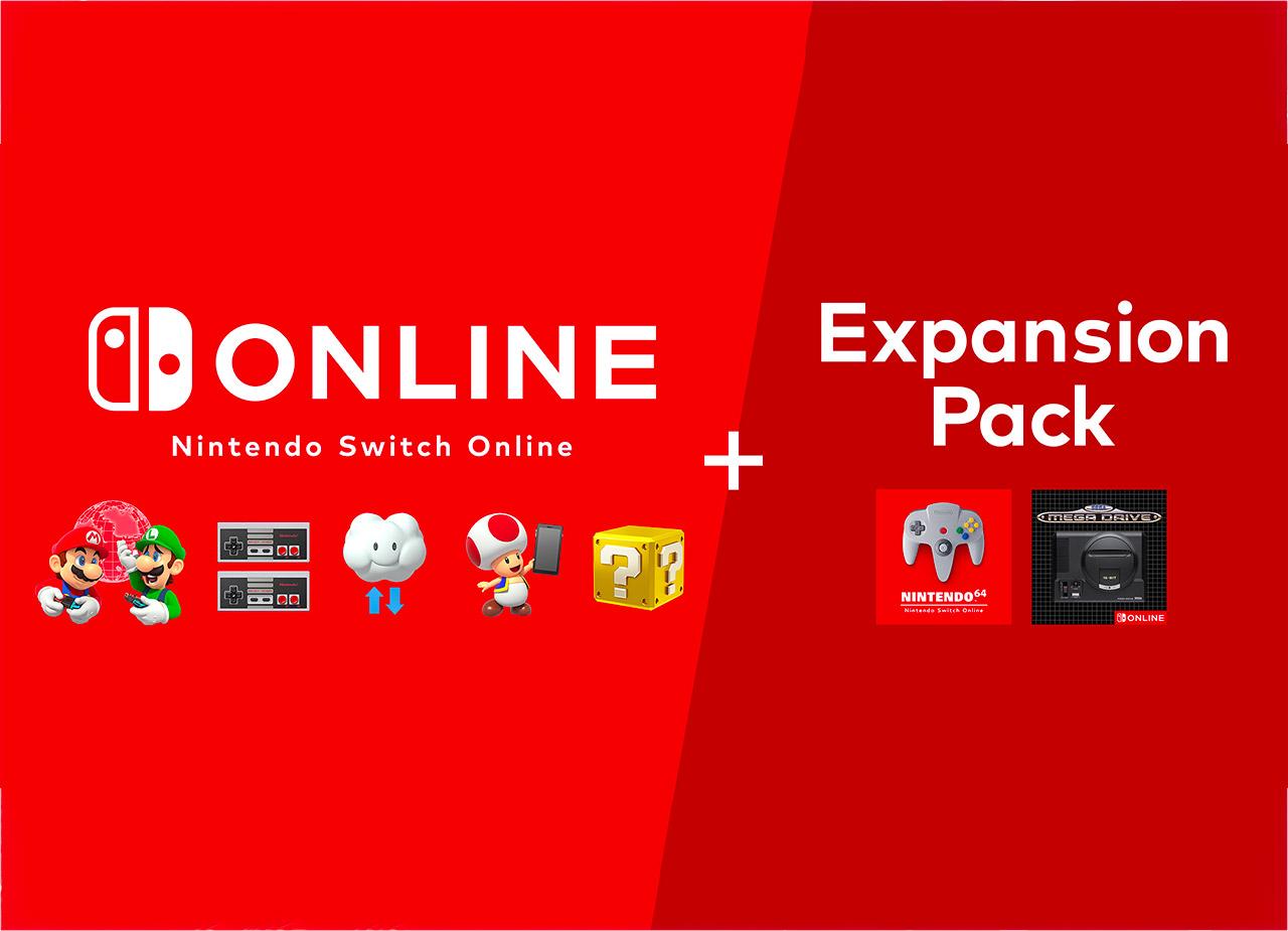 Nintendo Switch Online Expansion Pack N64 SEGA Genesis Mega Drive