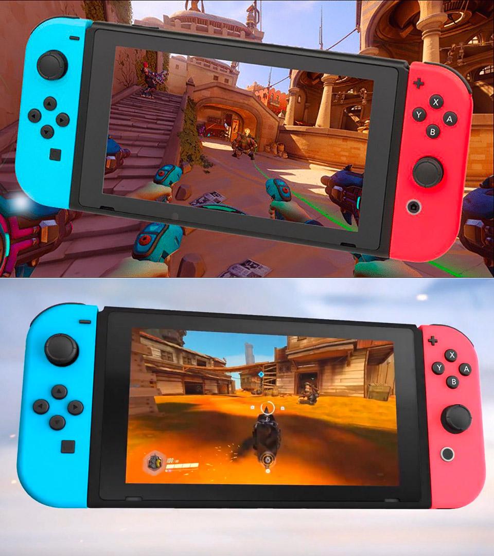 Nintendo Switch Overwatch Release