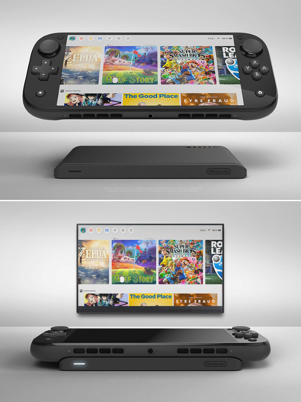 Nintendo Switch Up Lite Dock