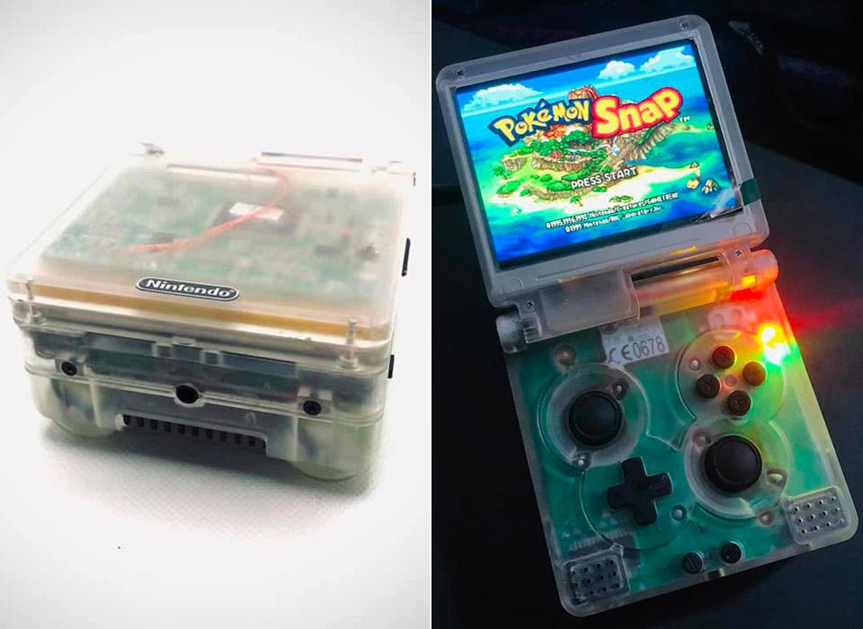 Nintendo Wii Game Boy Advance SP SPii Portable