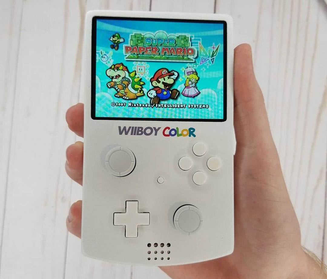 Nintendo Wii Game Boy Color Wiiboy