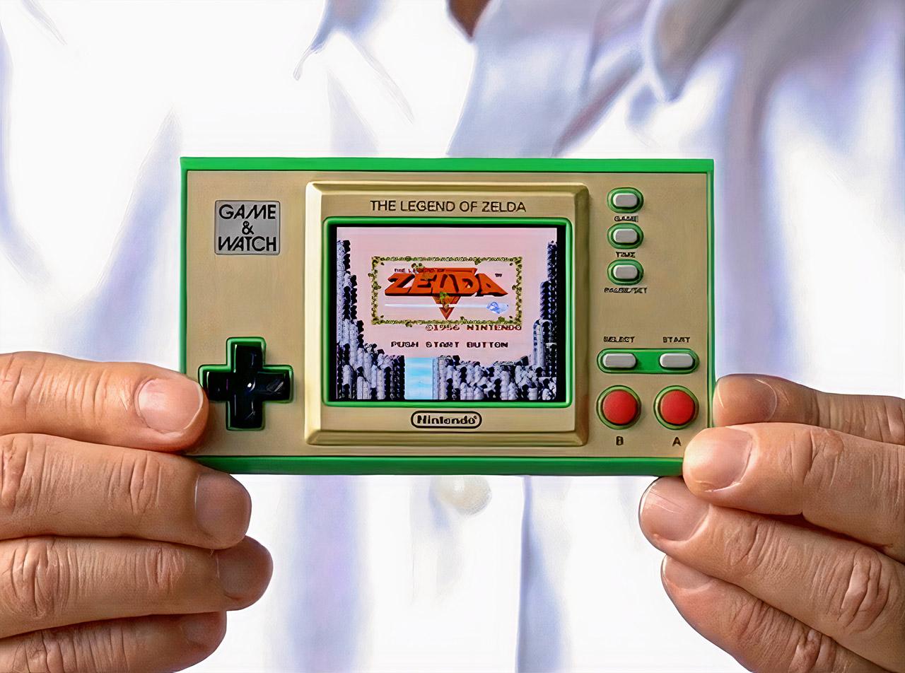 Nintendo Zelda Game and Watch