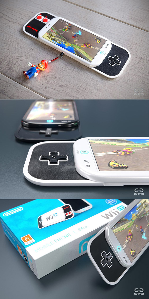 if nintendo made a smartphone it would probably look like the wii m