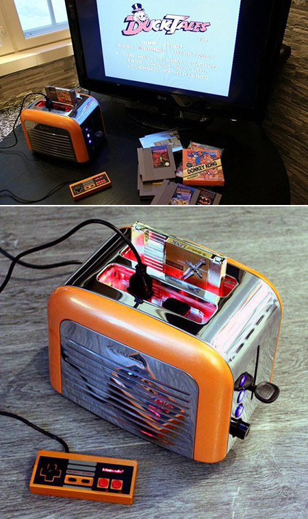 Nintentoaster Nintendo Toaster