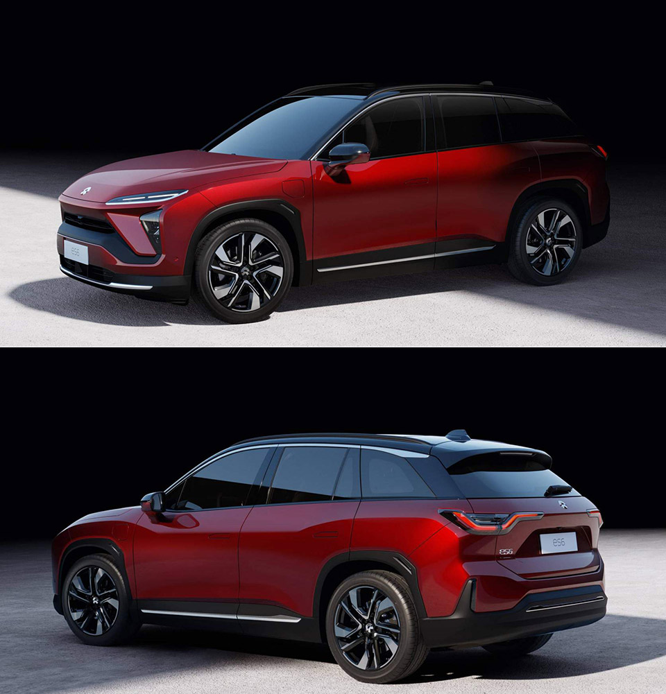 NIO ES6 Electric SUV