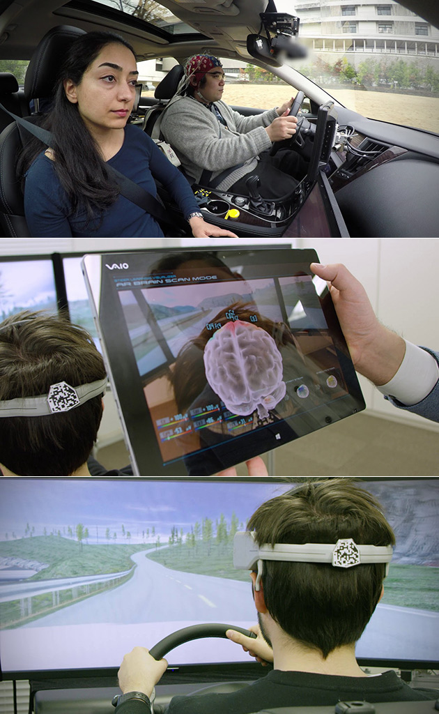 Nissan Brain to Vehicle Technology