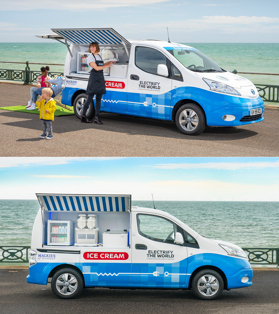Nissan e-NV200 Ice Cream Truck