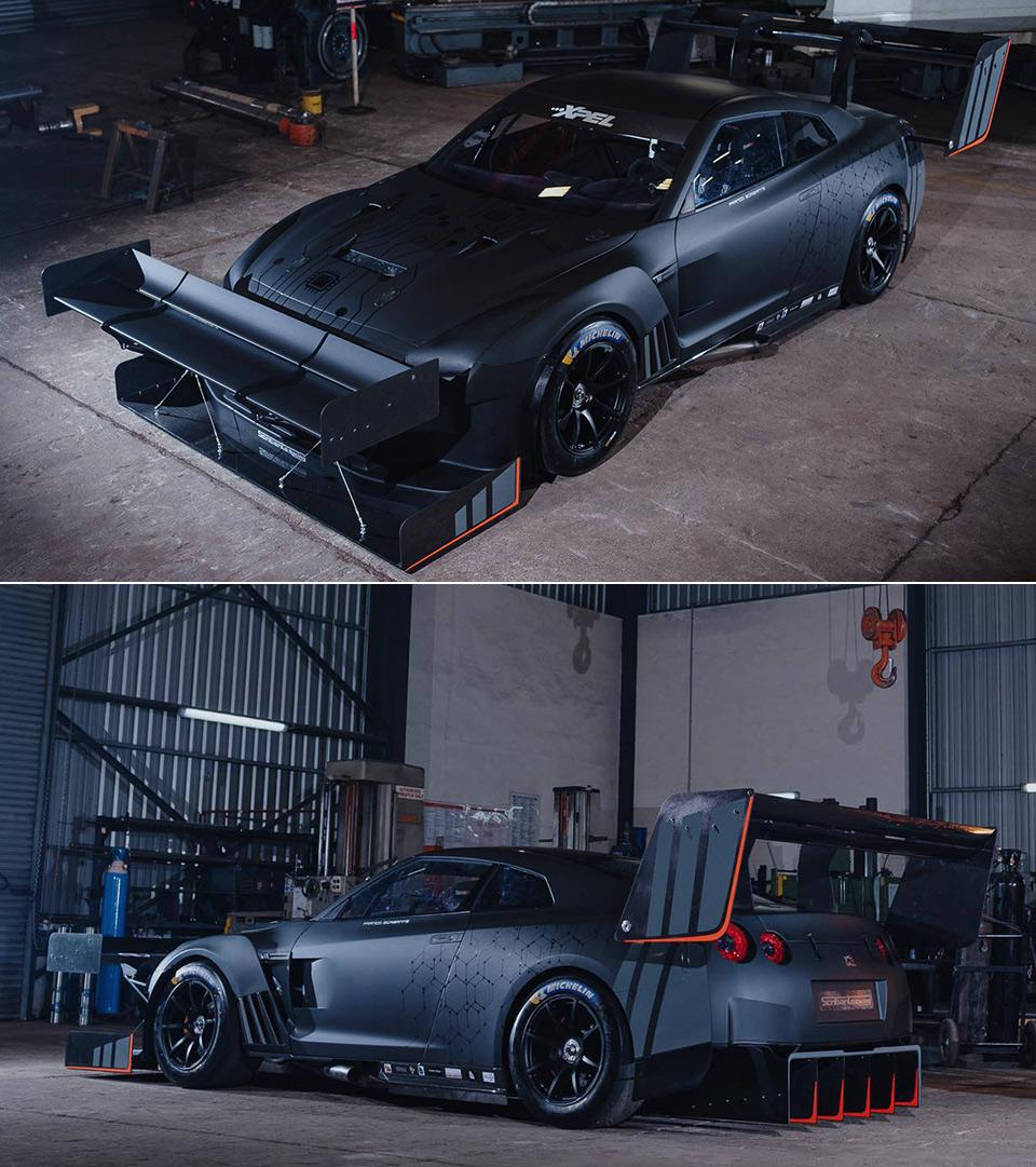 Nissan GT-R Hillclimb