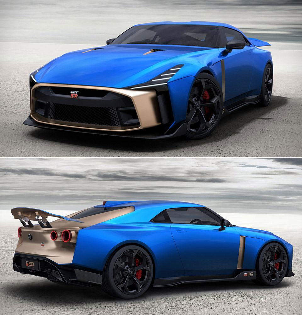 Nissan GT-R50 Prototype