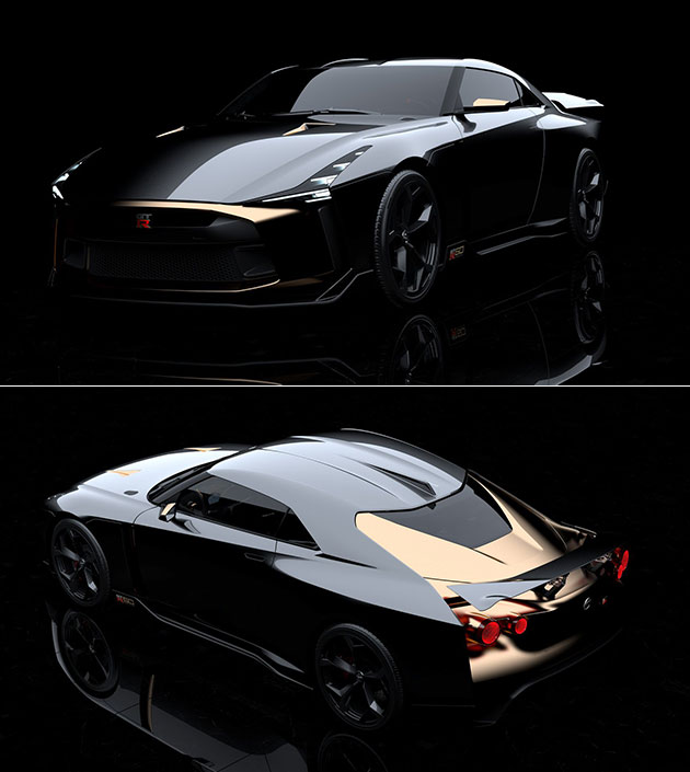 Nissan GTR Italdesign GT-R50