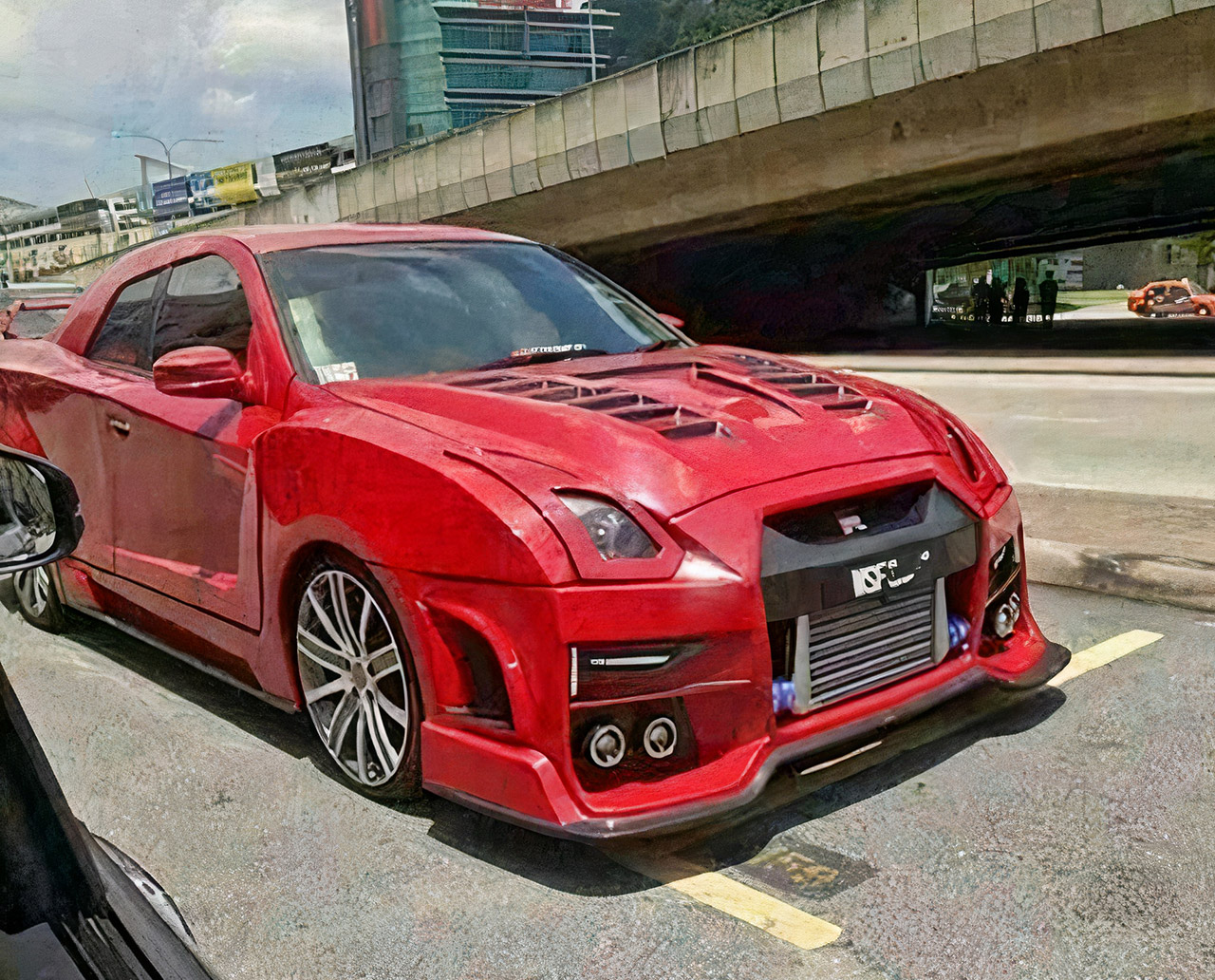 Nissan GT-R Knockoff Proton Saga Malaysia