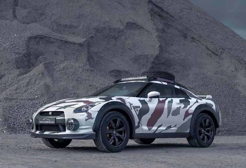 Nissan GT-R Off-Road Godzilla