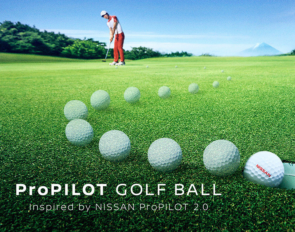 Nissan ProPILOT Golf Ball