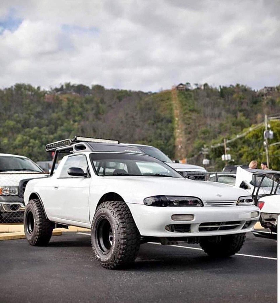 Nissan Silvia S14 240SX Pickup Truck
