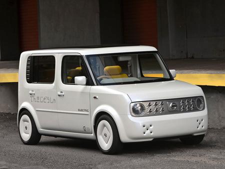 2008 Nissan Denki Cube Concept. Nissan#39;s Cube concept