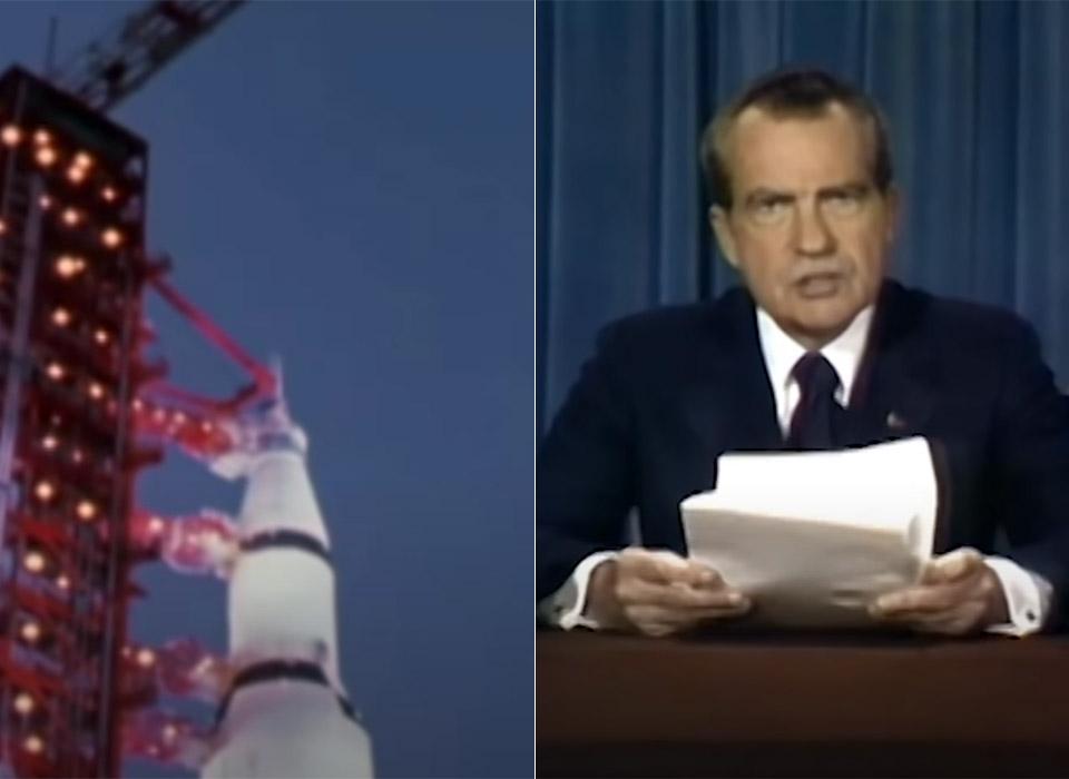 Nixon Deepfake Apollo 11