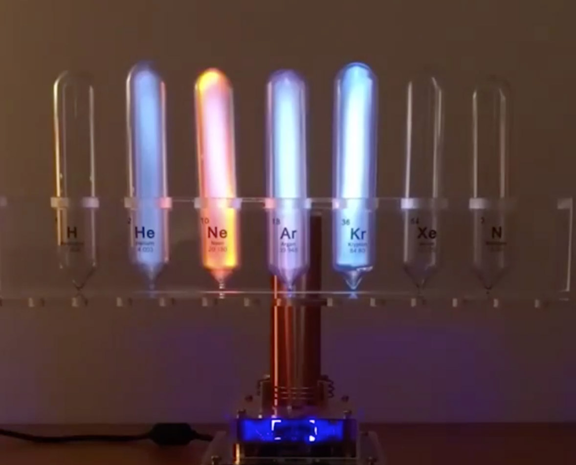 Noble Gases Neo Electricity