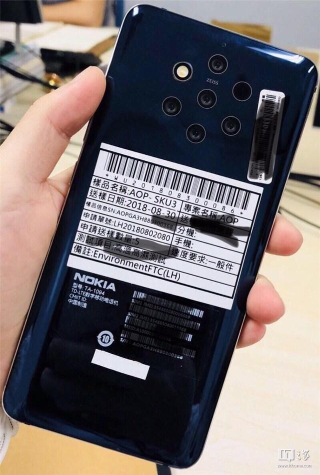Nokia 9 5 Cameras