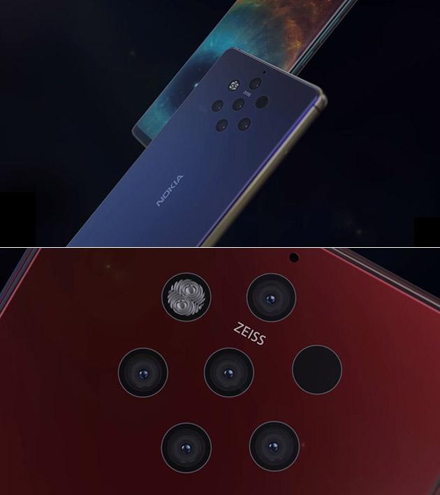 Nokia 9 Penta Camera