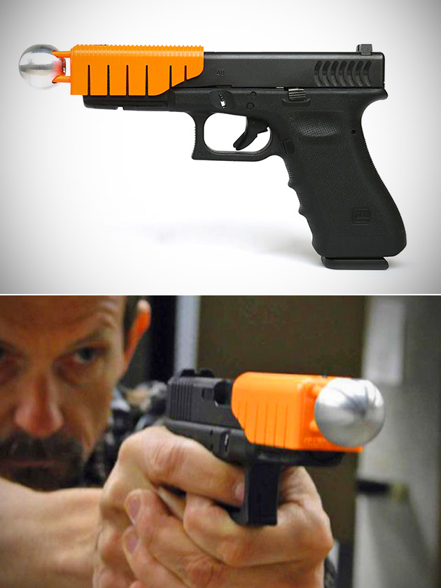 Non-Lethal Bullets The Alternative