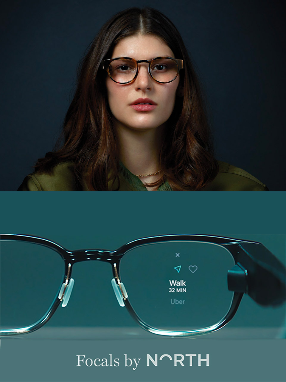North Focals Smartglasses