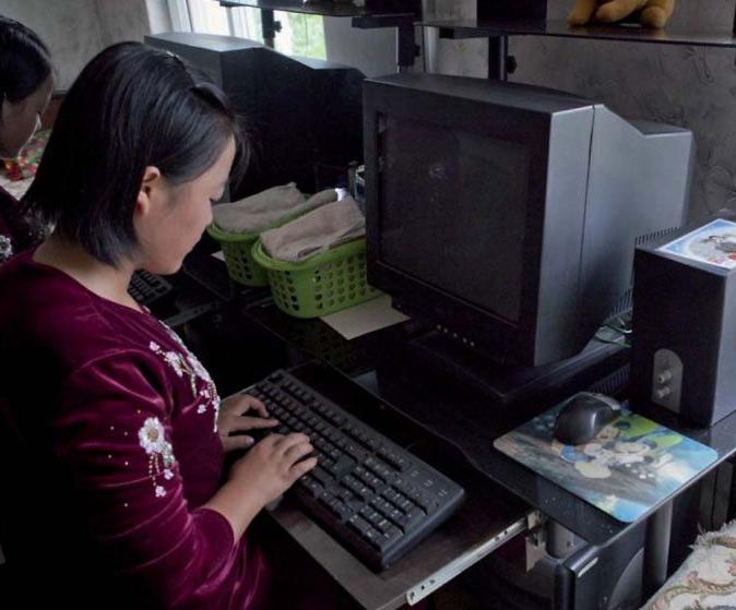 North Korea Computer