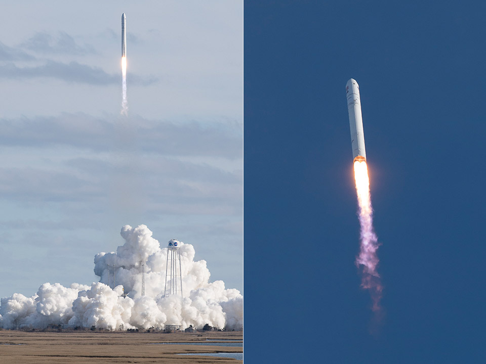 Northrop Grumman Antares Cygnus NASA