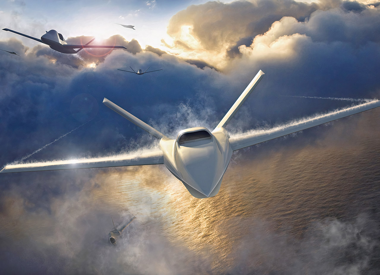 Northrop Grumman Model 437 Loyal Wingman Combat Drone
