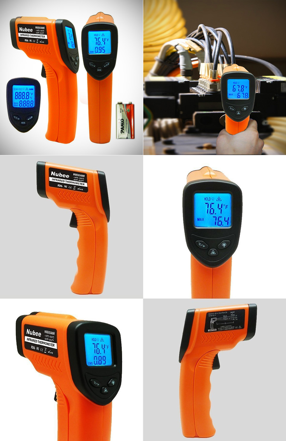 Nubee Non-Contact Infrared Thermometer
