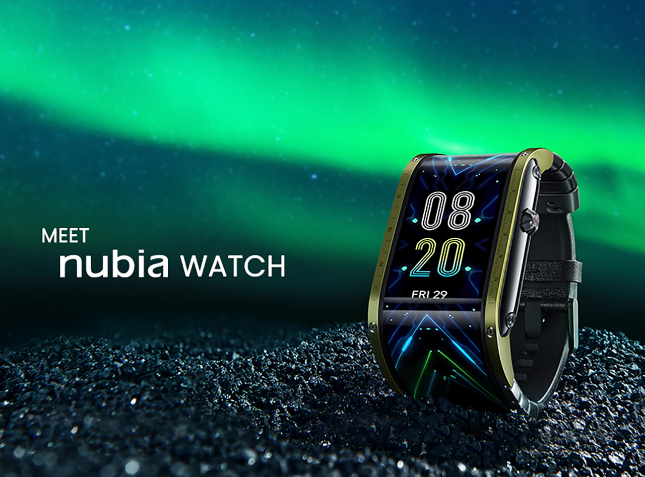 Nubia Watch Flexible AMOLED Display