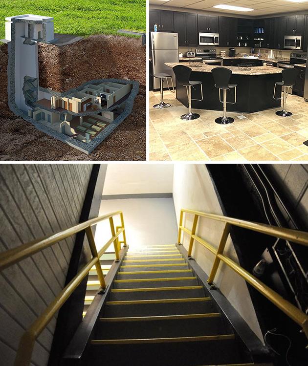 Nuclear Underground Bunker