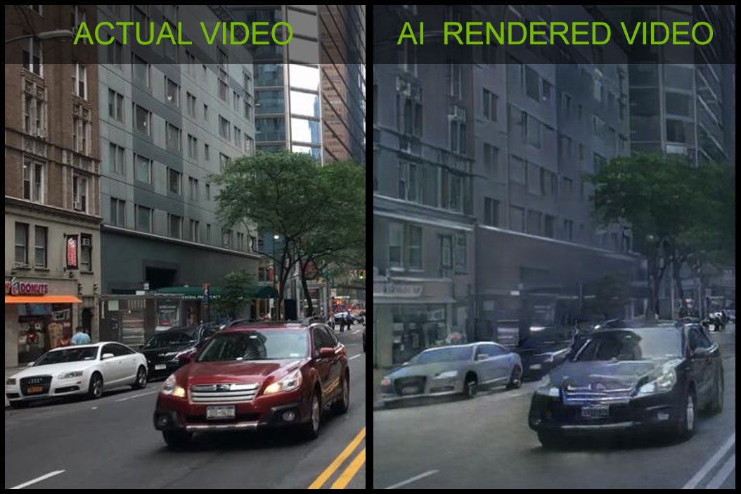 NVIDIA AI Breakthrough Interactive 3D Worlds