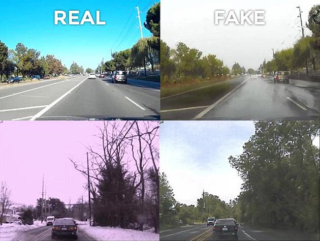 NVIDIA AI Driving Gans