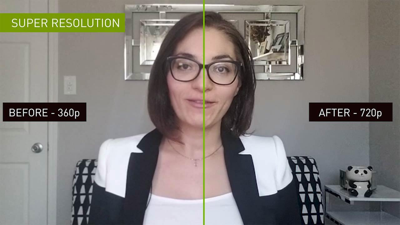 NVIDIA AI Research Maxine Video Calls