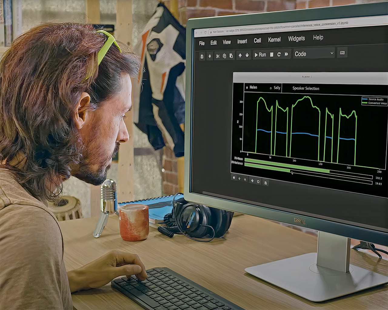 NVIDIA Artificial Intelligence Expressive Speech Synthesis Technology Avatar