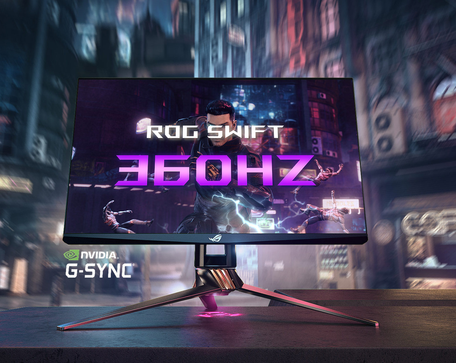 NVIDIA G-Sync ASUS ROF Swift 360Hz Monitor