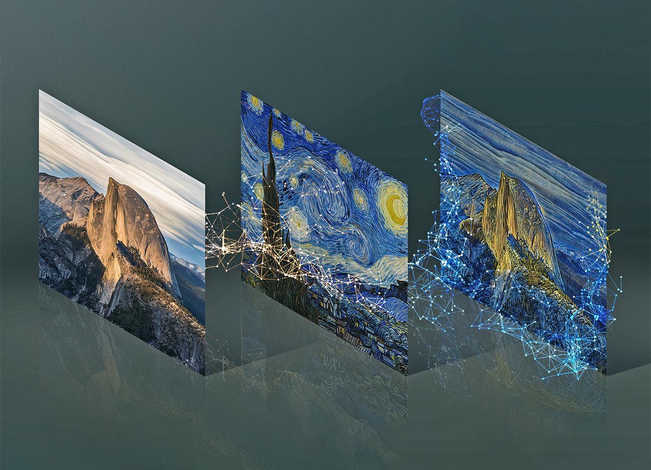 NVIDIA GauGAN AI Doodle Art Landscape