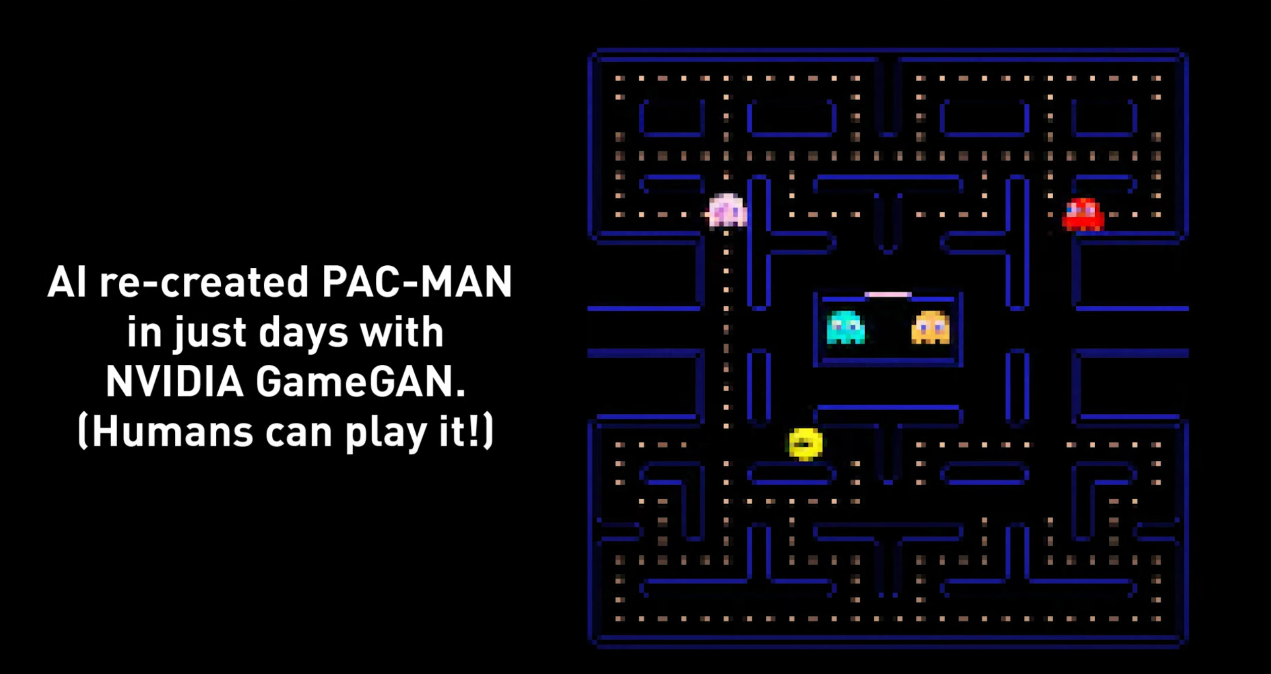NVIDIA Artificial Intelligence Pac-Man