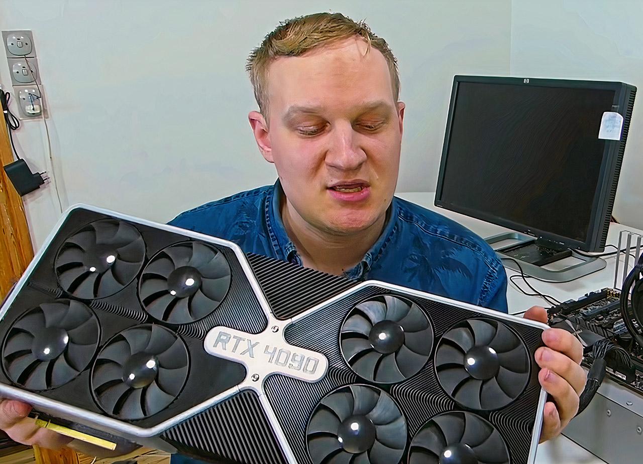 NVIDIA RTX 4090 April Fools