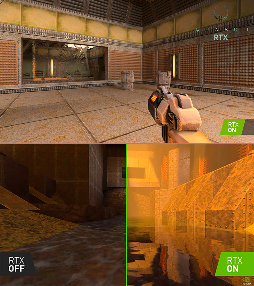 NVIDIA RTX Quake II Ray-Tracing
