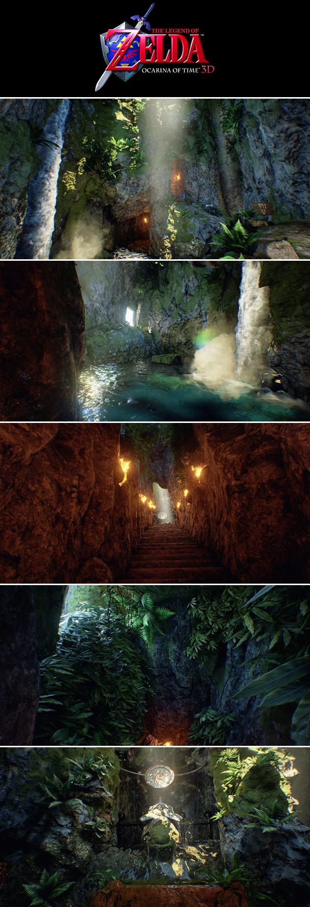 Ocarina of Time Unreal Engine 4