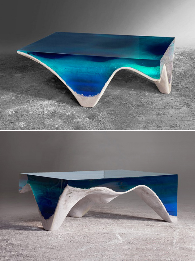 Ocean Floor Table